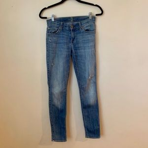 7 For All Mankind jeans, size 25